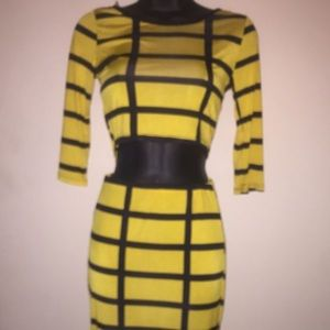 Dresses & Skirts - Yell/Black Two-Piece Bodycon Outfit